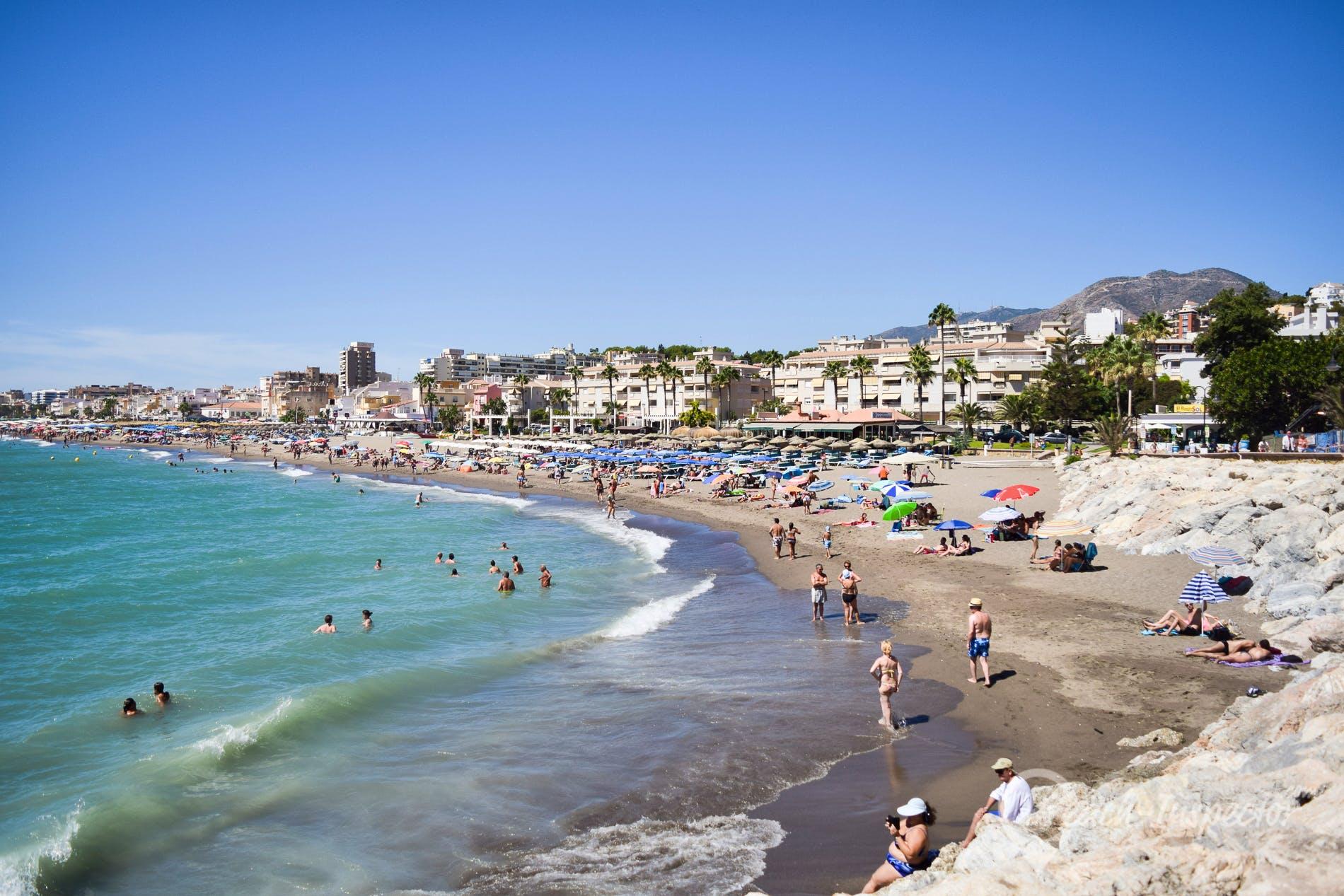 Playa Playa La Carihuela, Costa del Sol, España
