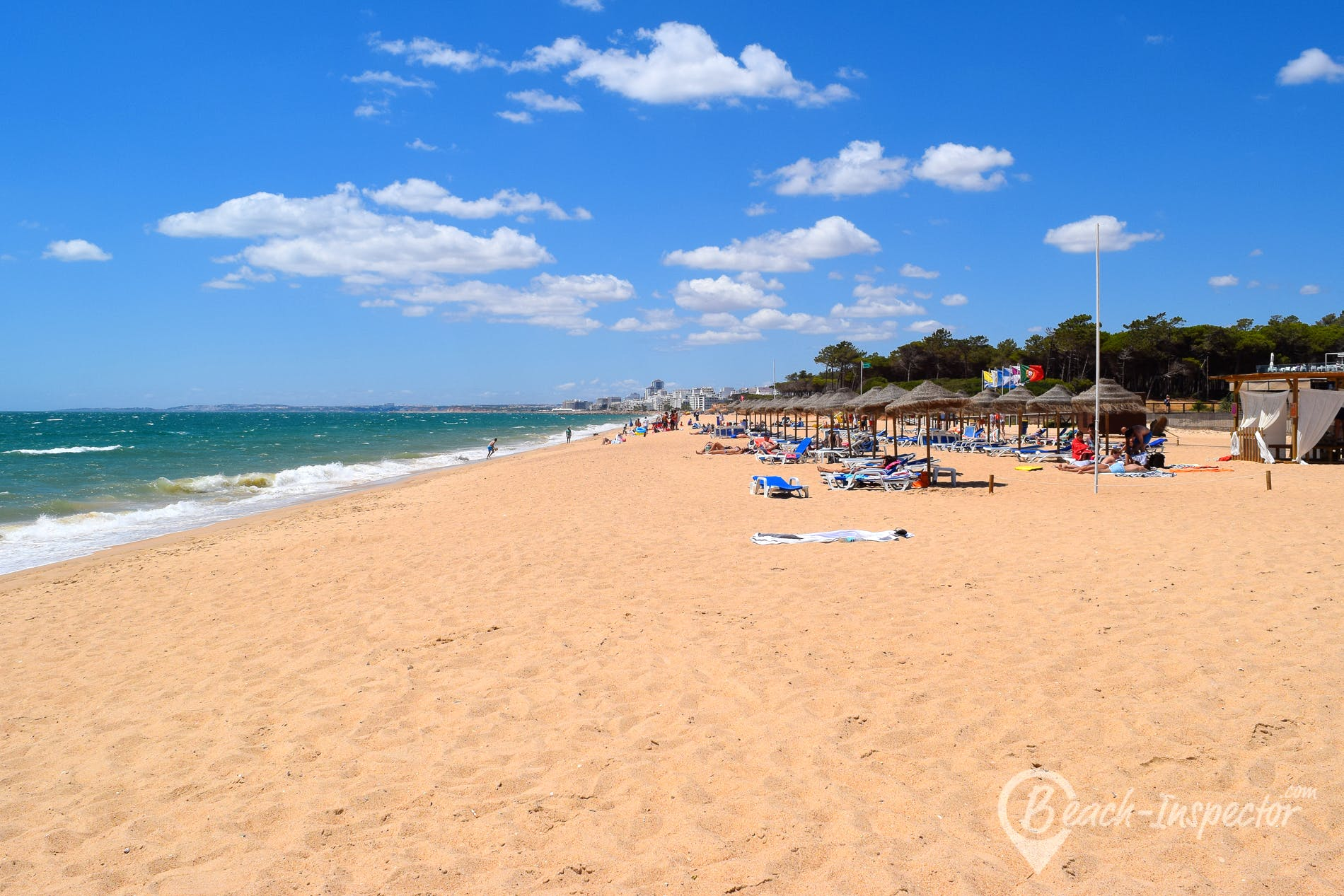Strand Praia do Loulé Velho, Algarve, Portugal