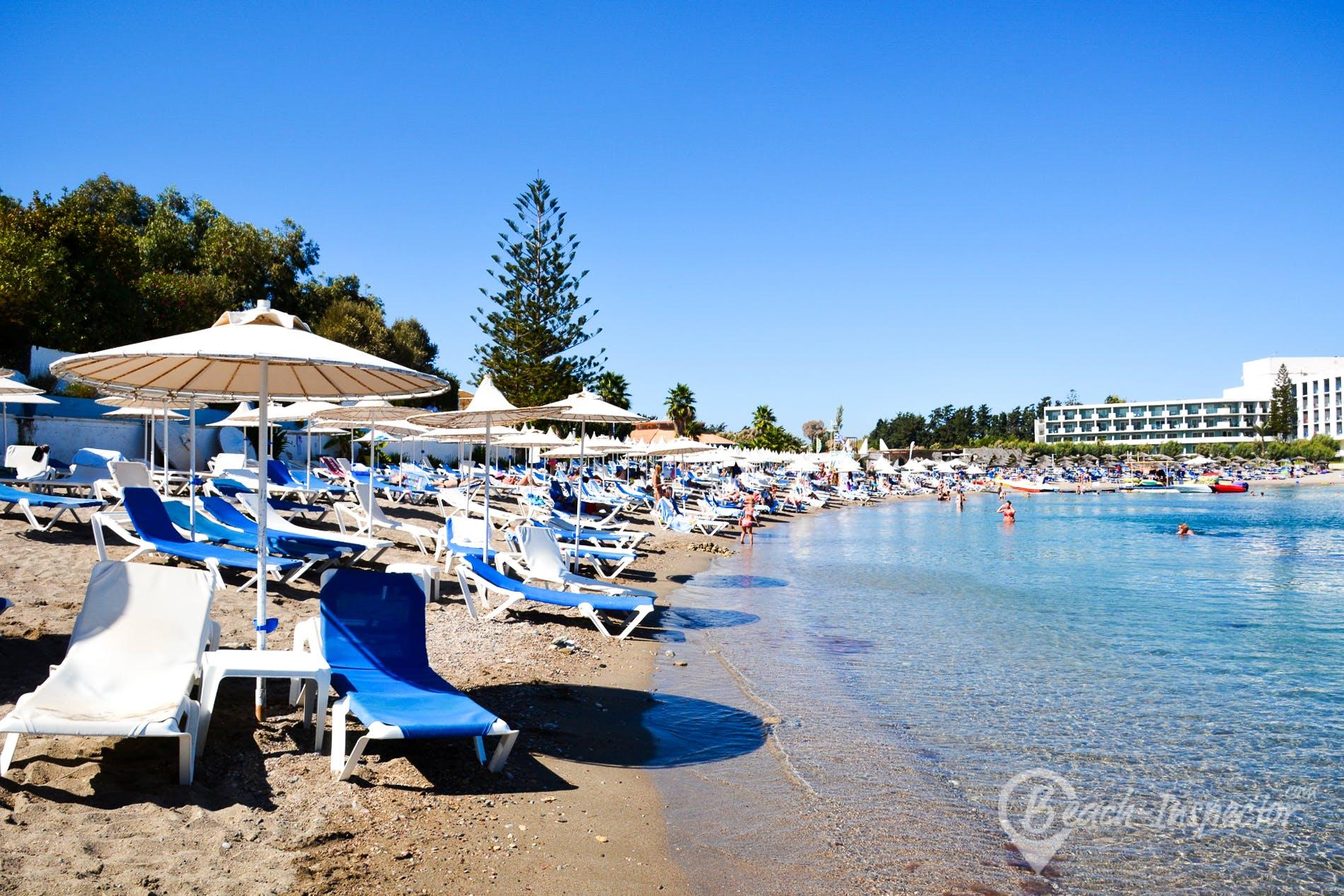 Kallithea beach rhodos alle infos und insidertipps zum for Koskinou rhodos