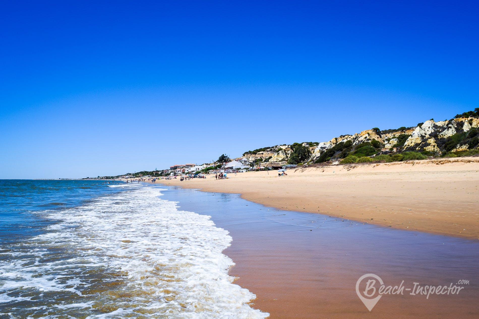 Beach Playa de la Estrella, Costa de la Luz, Spain