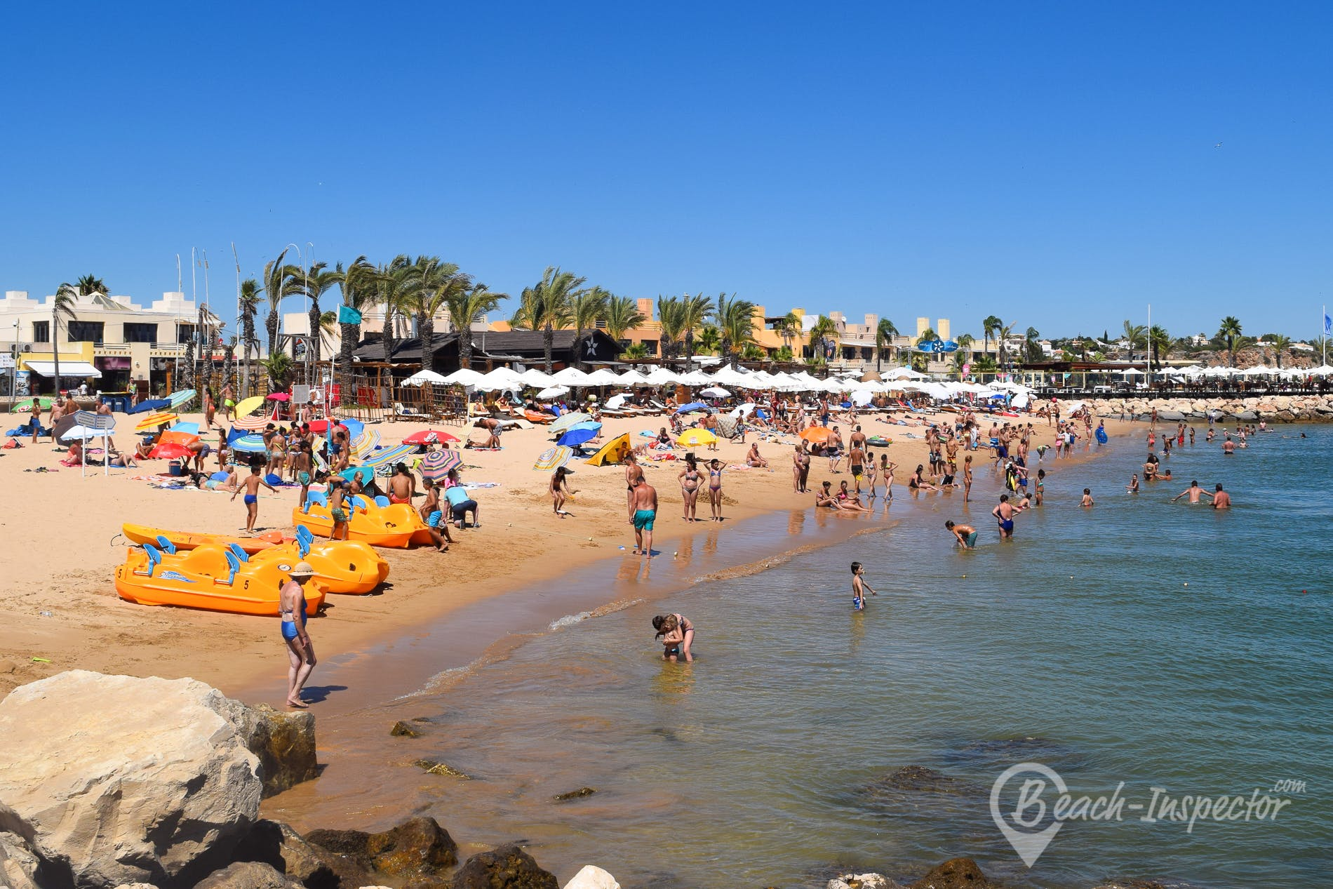 Beach Praia da Marina, Algarve, Portugal