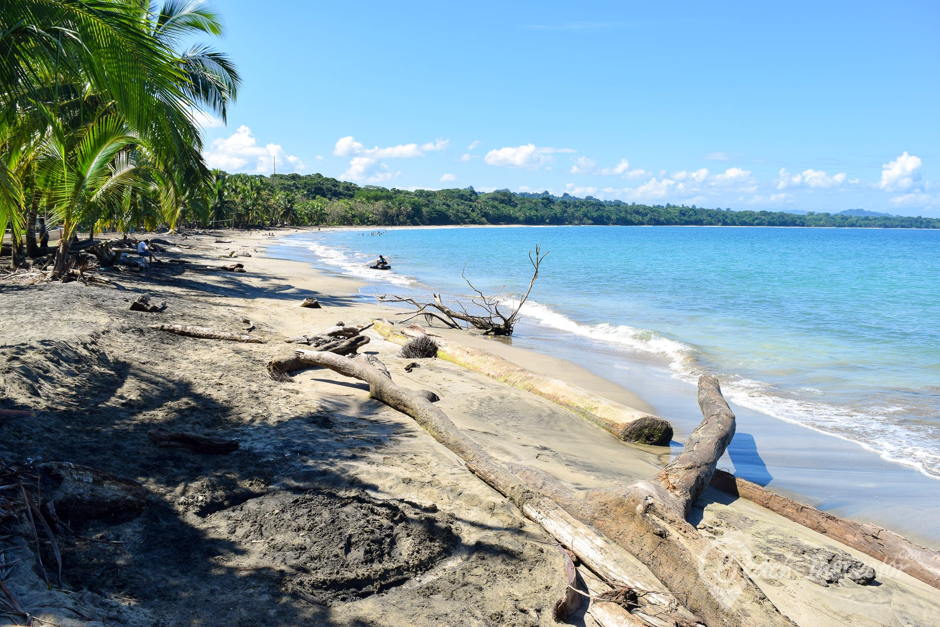 Beach Playa Manzanillo, Costa Rica, Costa Rica
