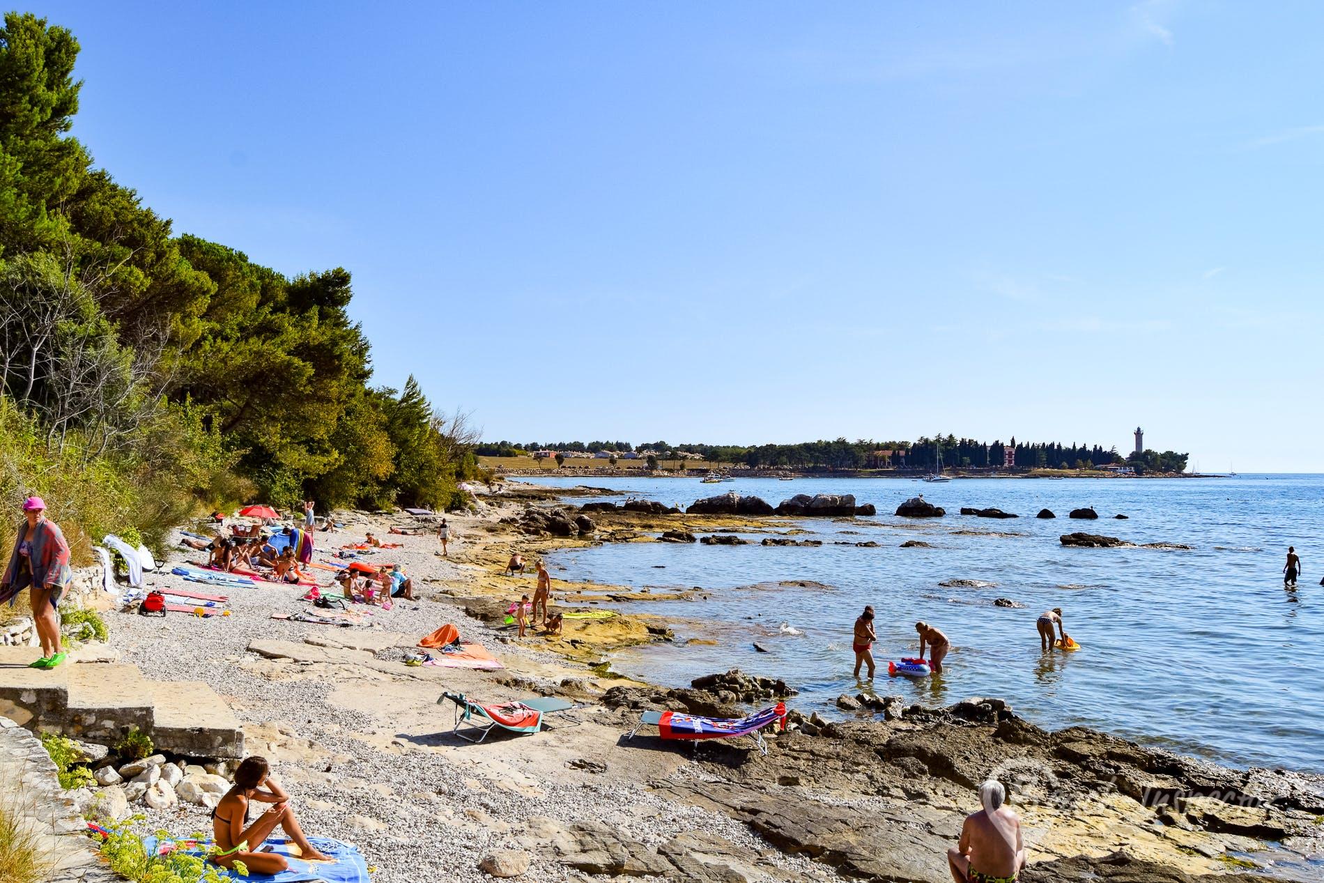 Playa Veli Joze Savudrija, Istria, Croacia
