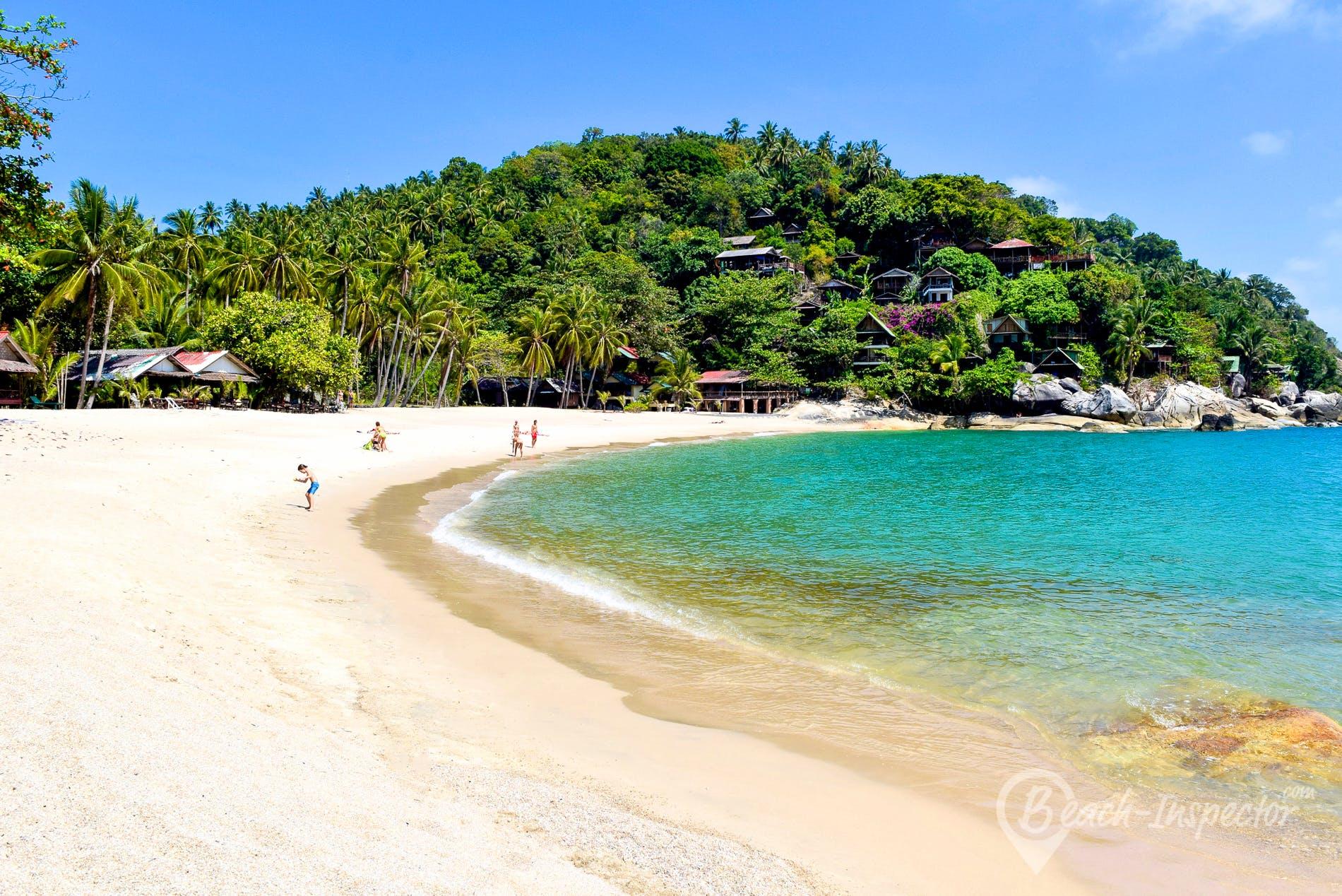 Playa Than Sadet Beach, Koh Phangan, Tailandia