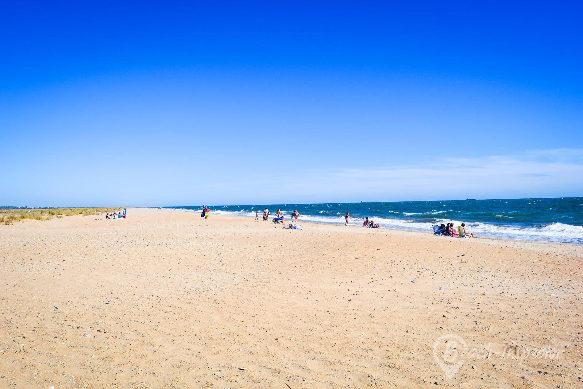 Beach Playa El Espigón, Costa de la Luz, Spain