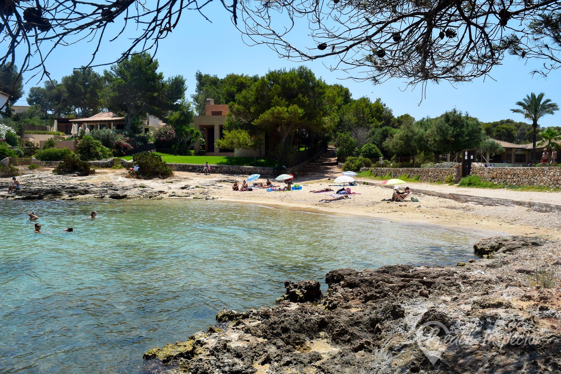 Playa Caló de Sa Torre, Mallorca, España