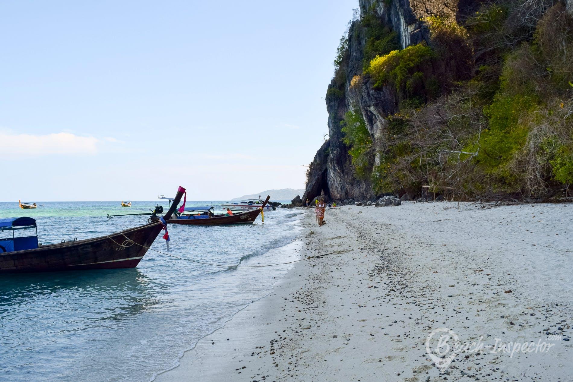 Beach Mosquito Island, Koh Phi Phi, Thailand