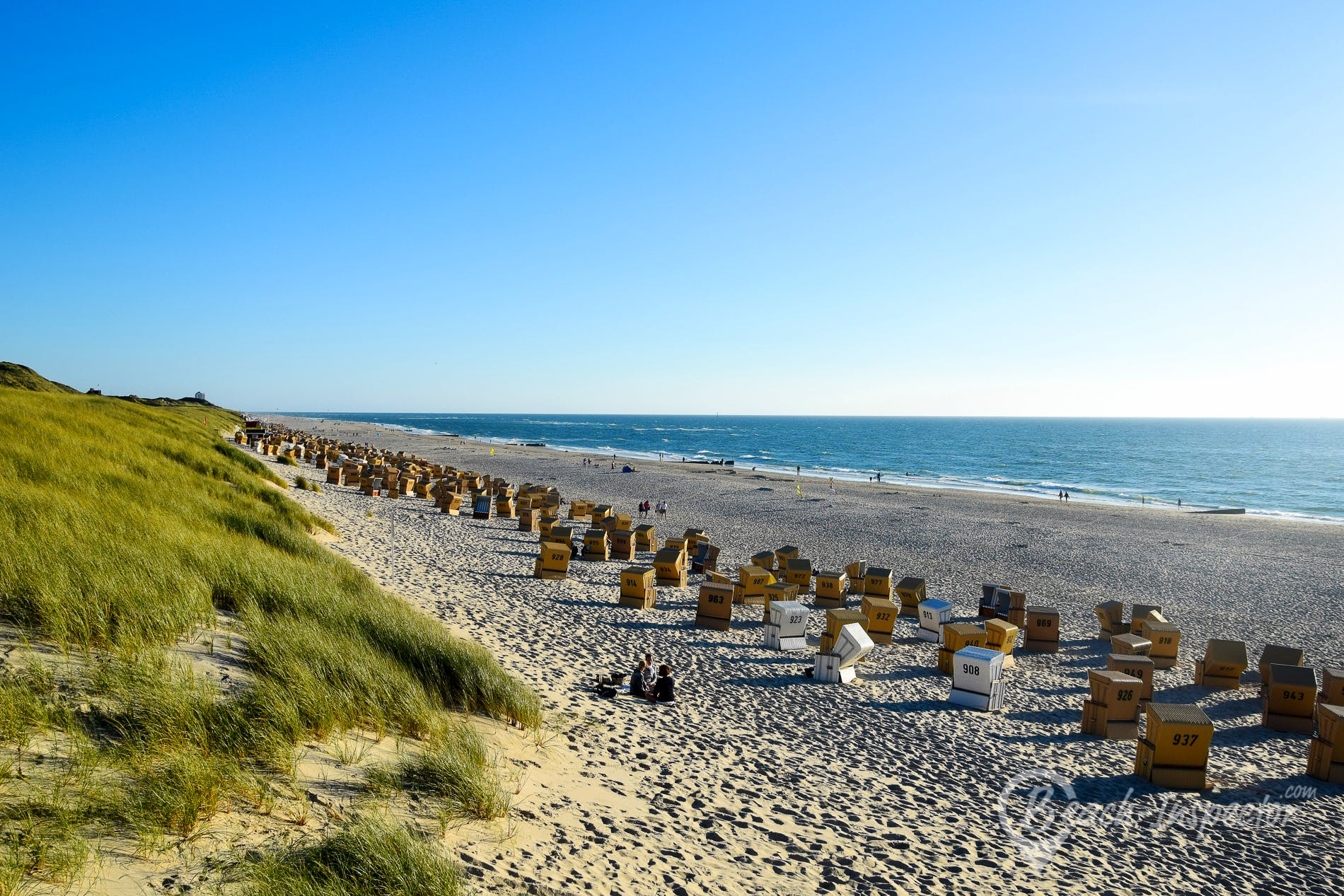 Beach Wenningstedt Hauptstrand, Sylt, Germany