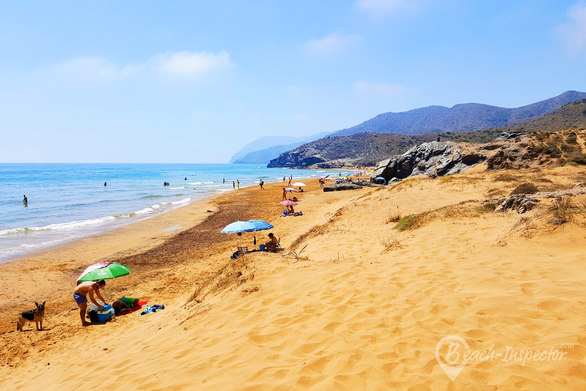 Beach Playa de Calblanque, Costa Cálida, Spain