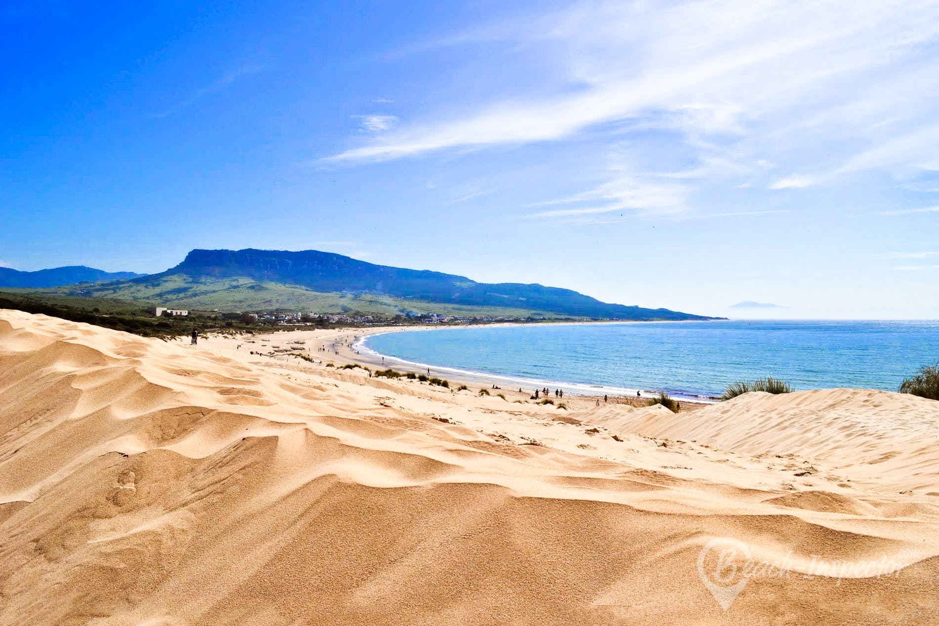 Strand Playa de Bolonia, Costa de la Luz, Spanien