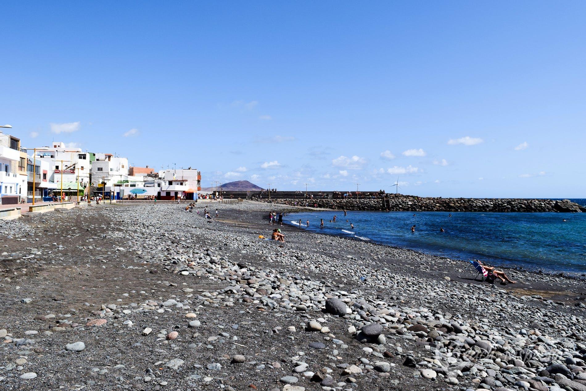 Strand Playa de Pozo Izquierdo, Gran Canaria, Spanien