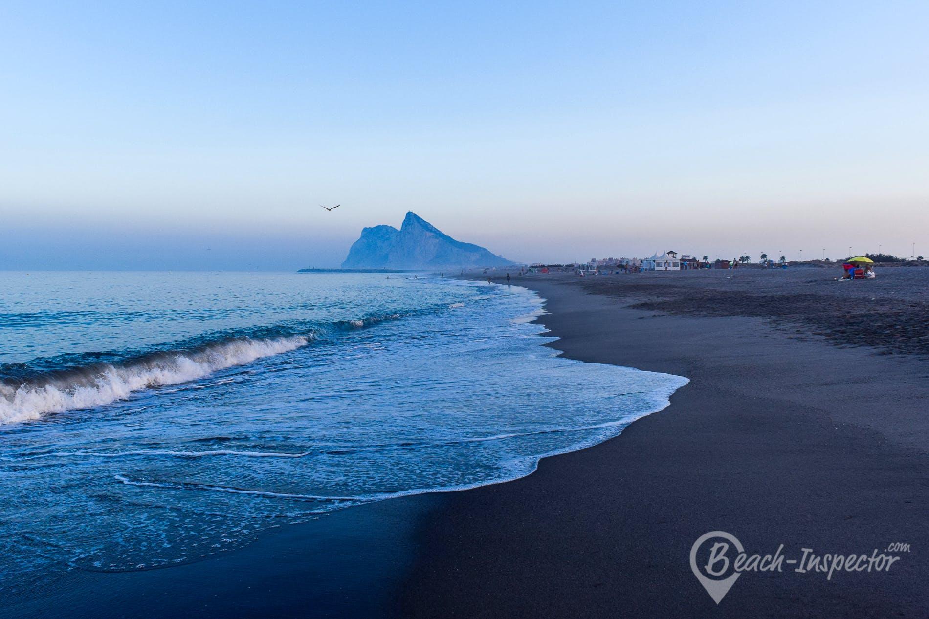 Playa Playa de Sobrevela, Costa del Sol, España