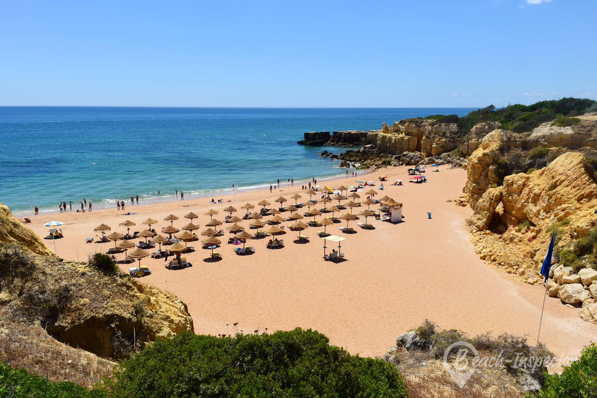 Beach Praia do Castelo, Algarve, Portugal