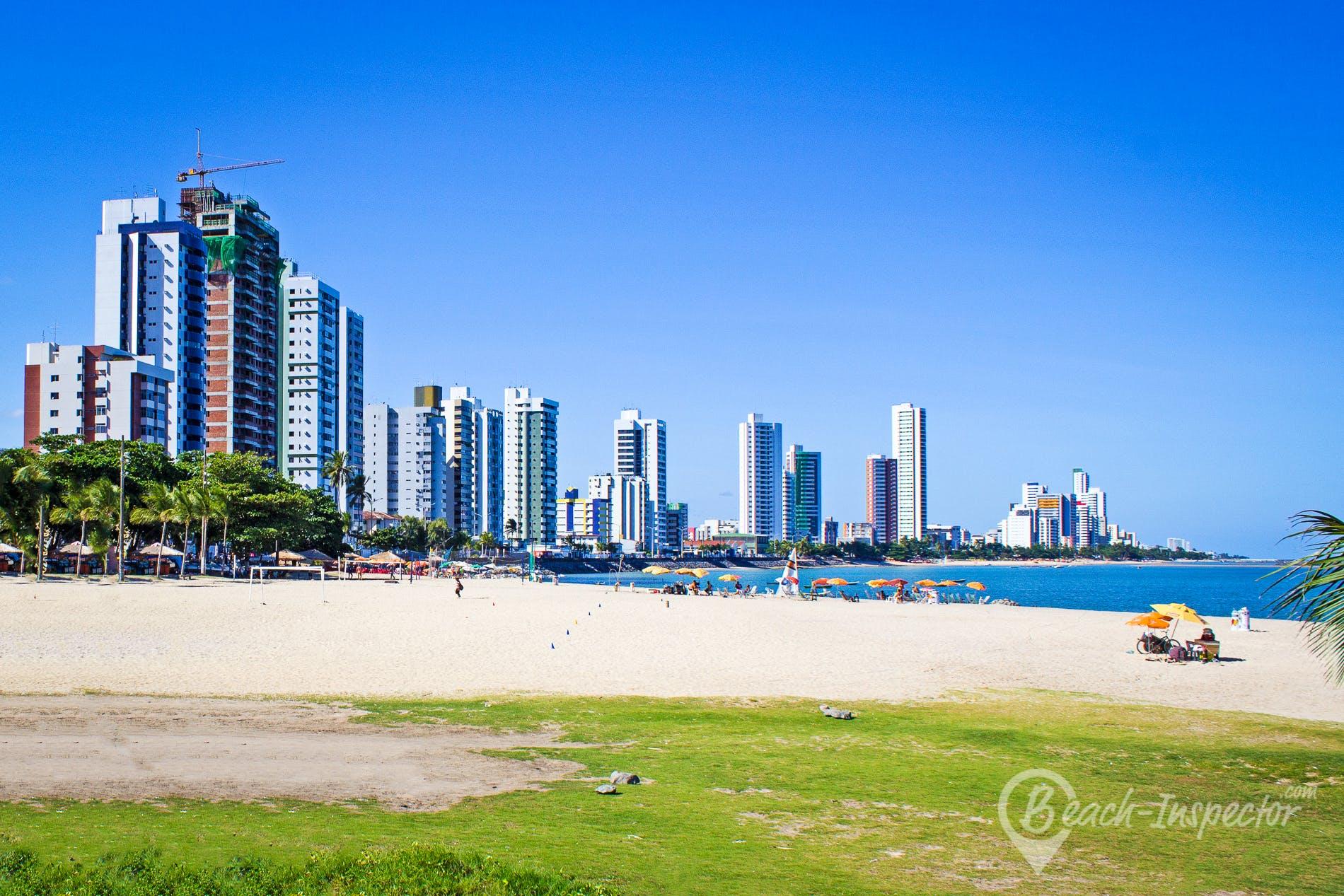 Beach Praia do Bairro Novo, Pernambuco, Brazil