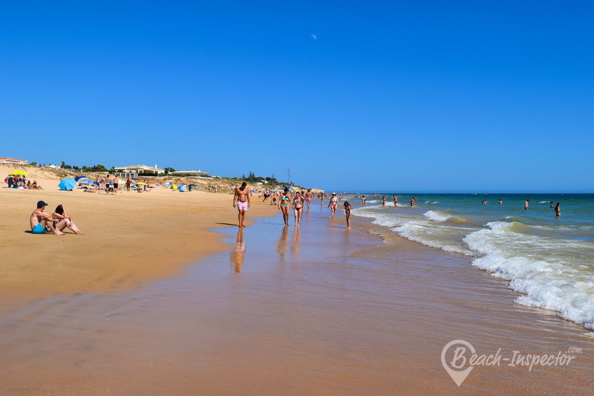 Beach Praia dos Salgados, Algarve, Portugal