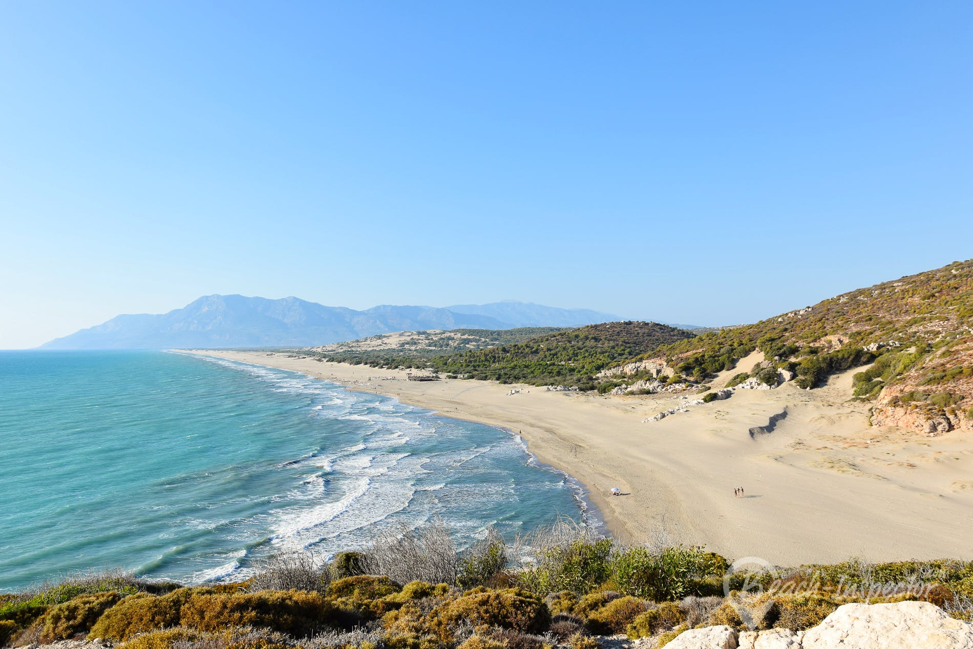 Strand Patara Beach, Türkei, Türkei
