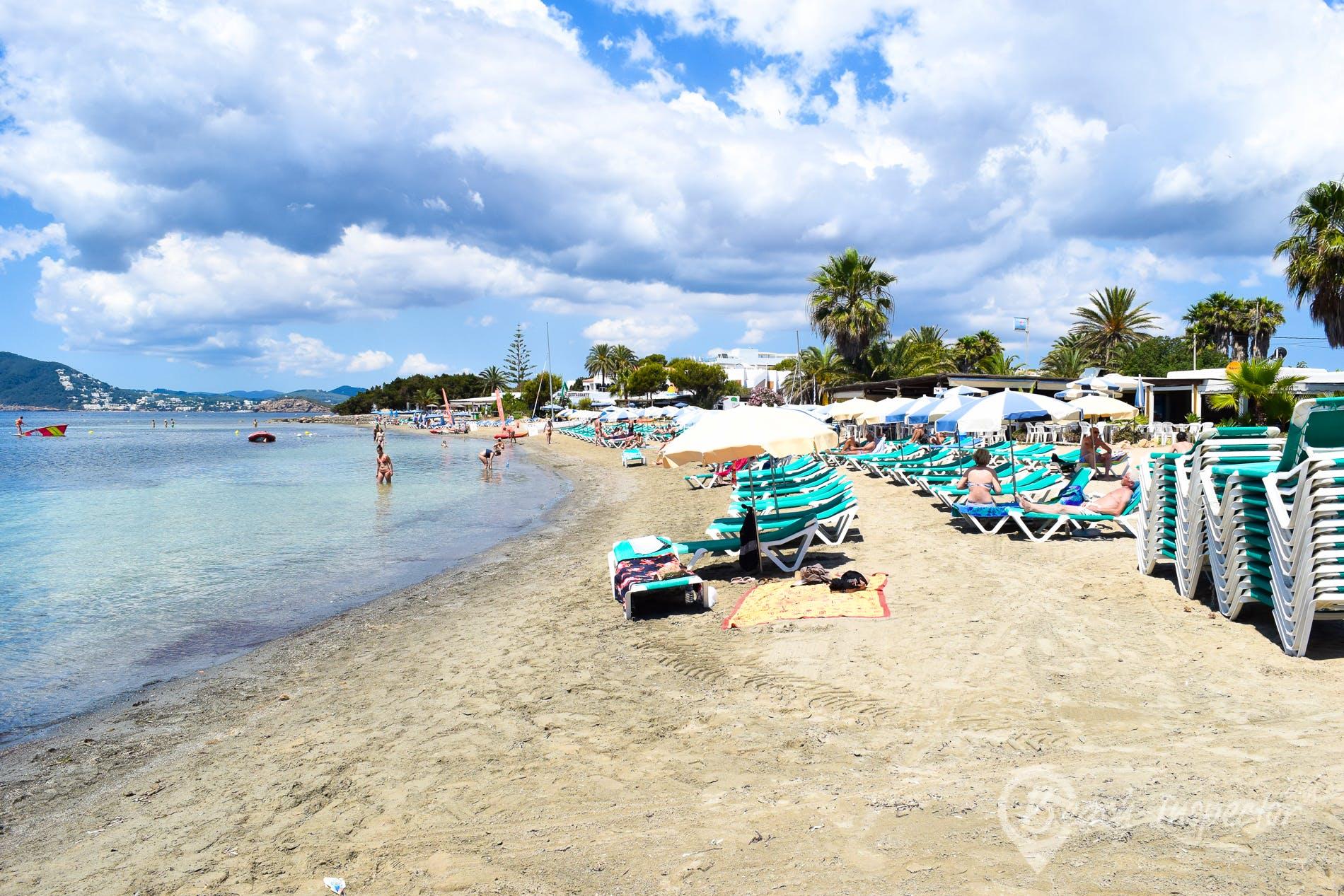 Playa Cala Martina, Ibiza, España