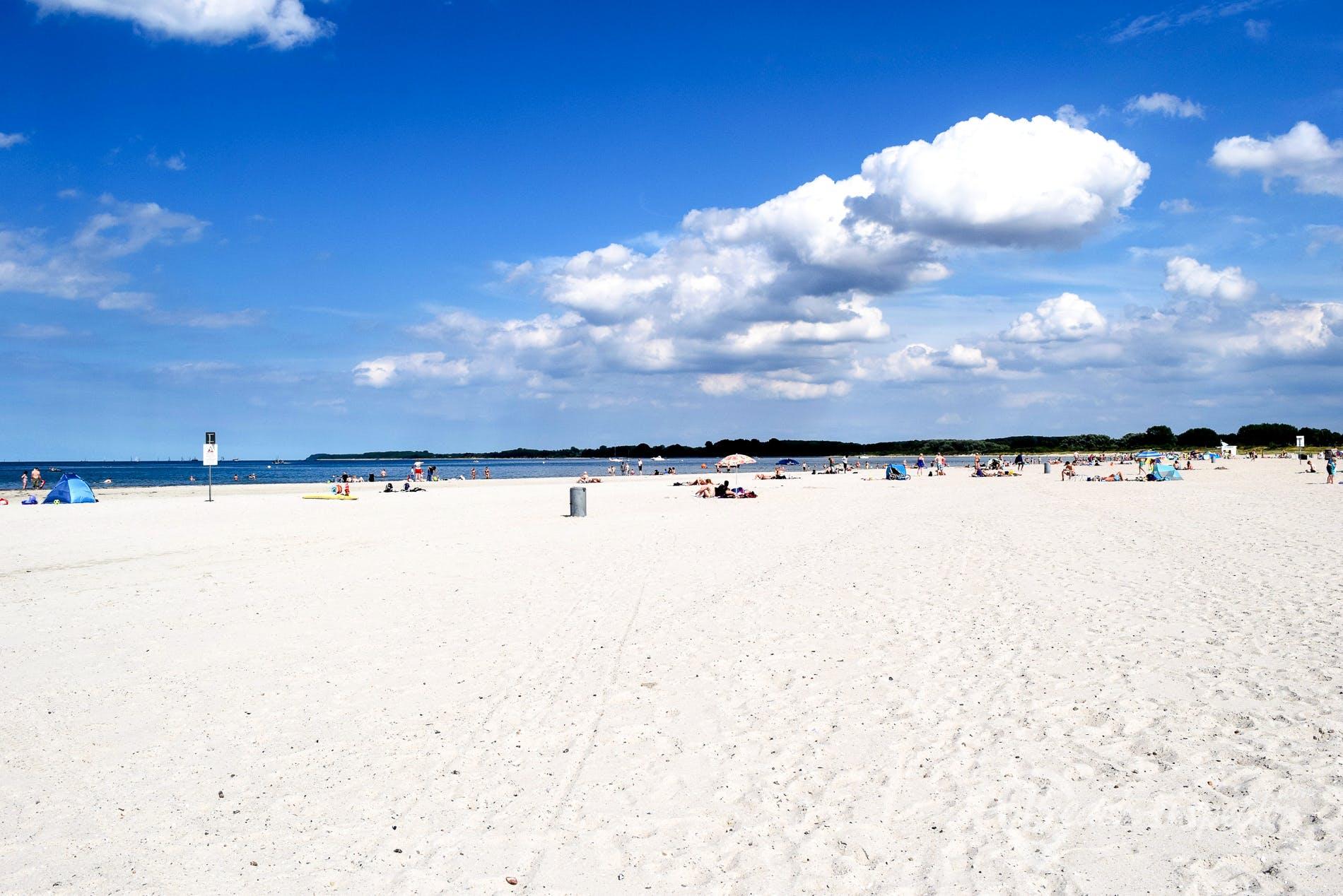 Strand Strand Priwall, Deutschland, Deutschland