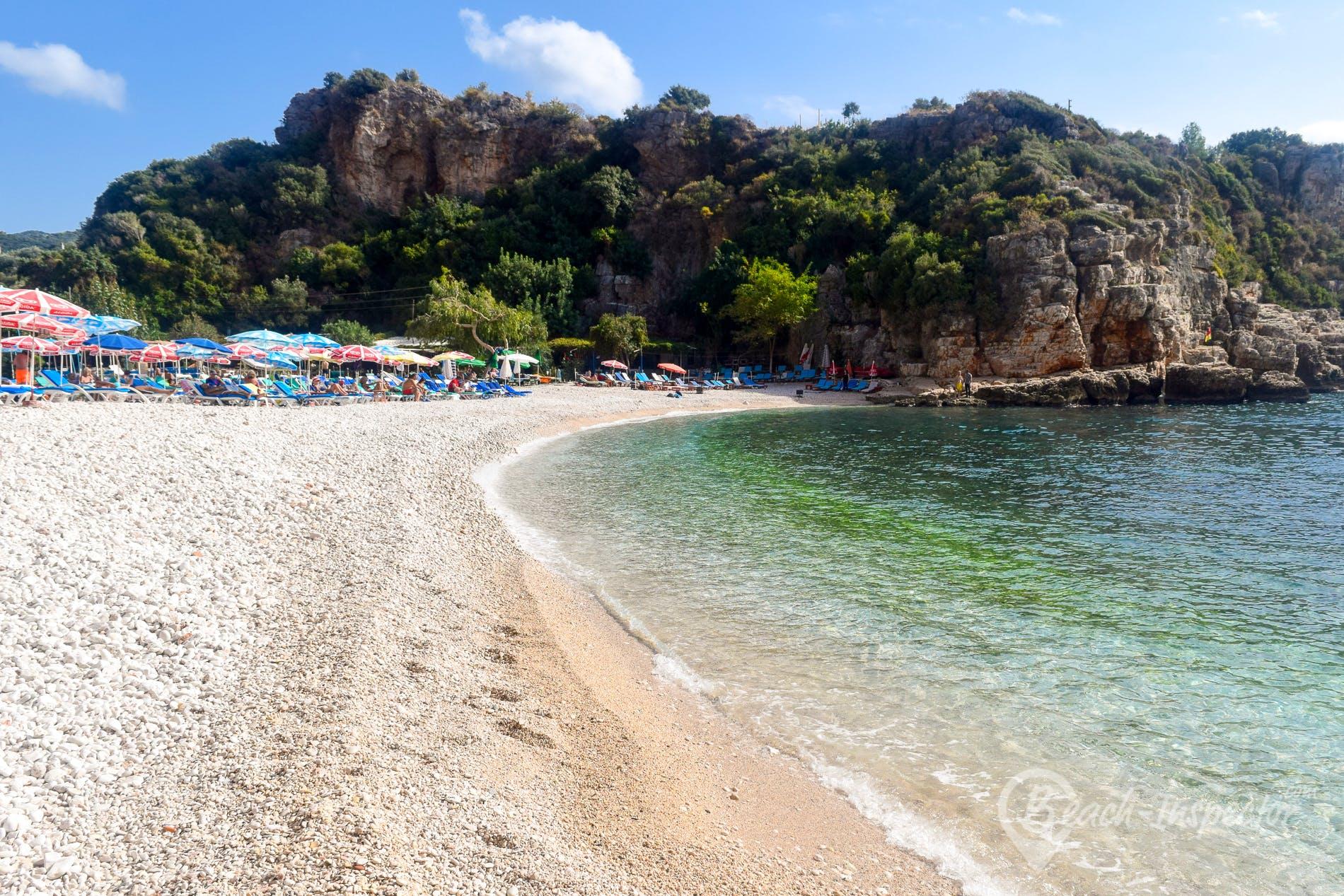 Playa Big Pebble Beach, Riviera Turca, Turquía