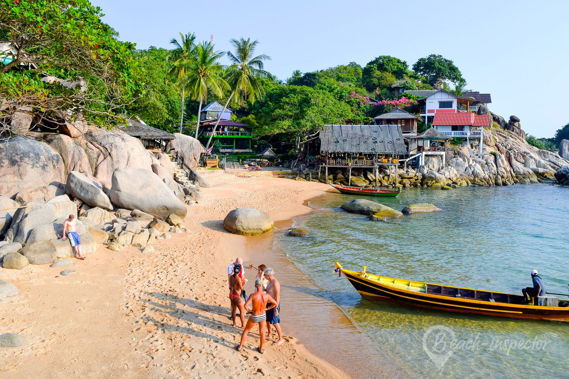 Beach Sai Nuan Beach, Koh Tao, Thailand