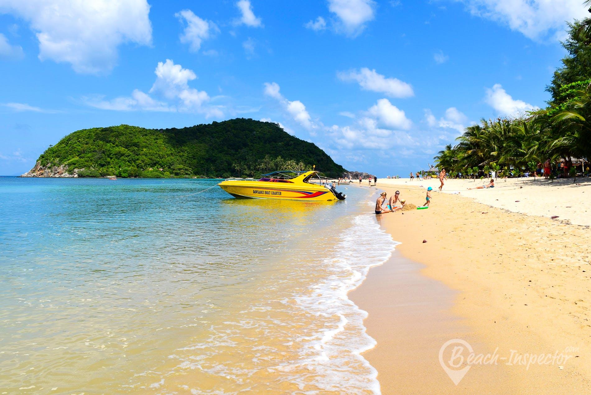 Beach Mae Haad Beach, Koh Phangan, Thailand