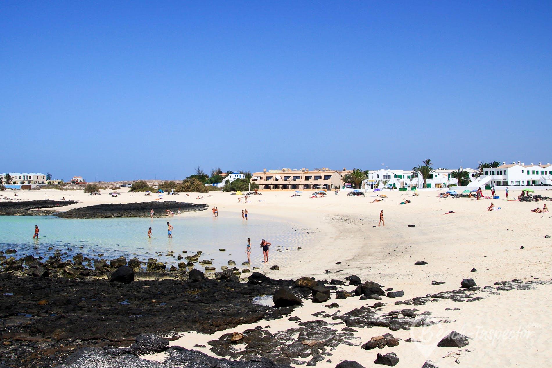 Playa Los Lagos, Fuerteventura, España