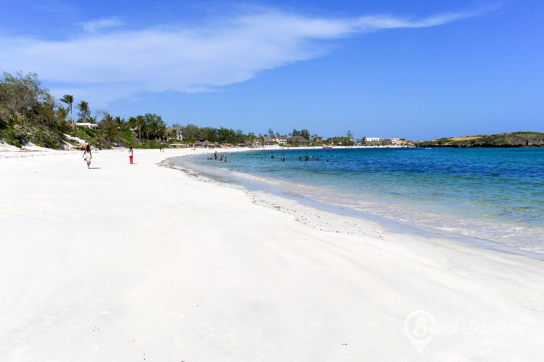 Strand Mapango Beach, Kenia, Kenia