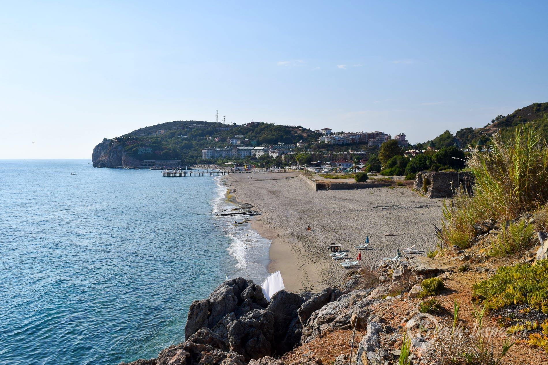Playa Pascha Bay, Riviera Turca, Turquía