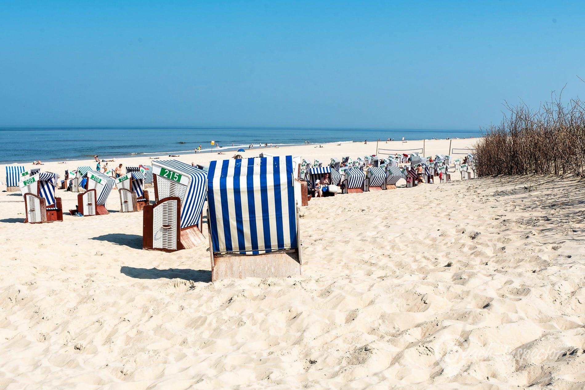 Playa Weiße Düne, Norderney, Alemania