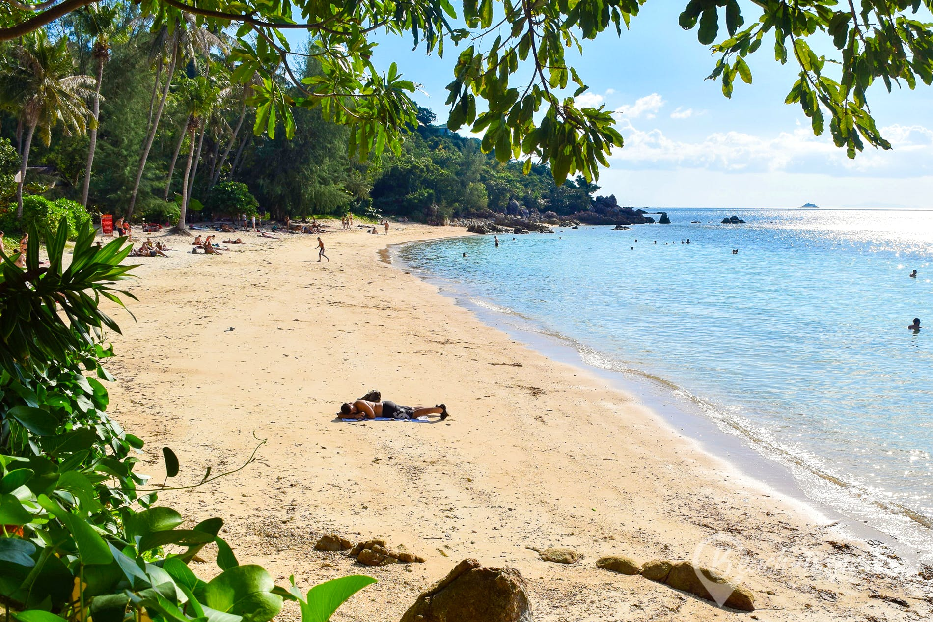 Playa Haad Son Beach, Koh Phangan, Tailandia