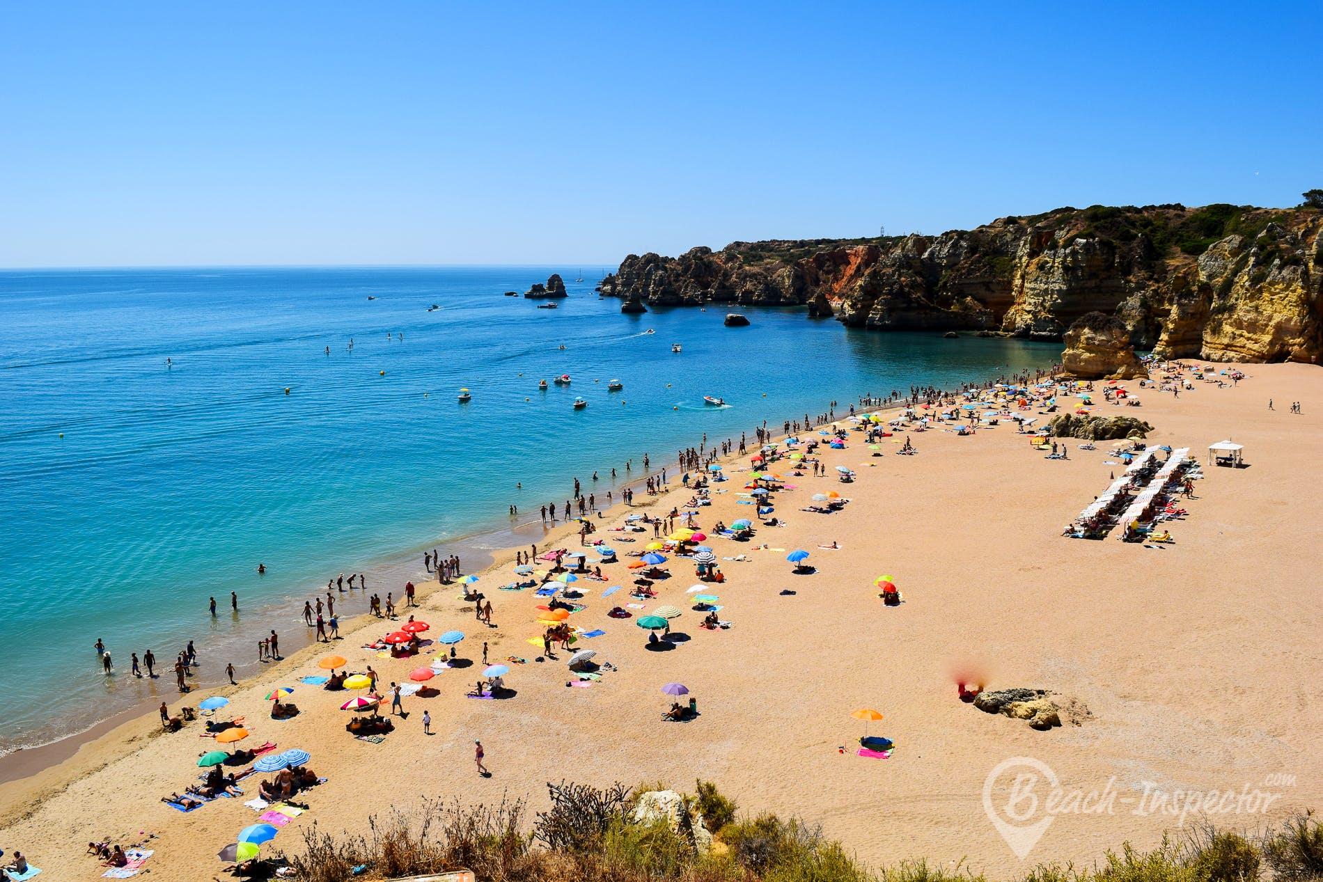 Beach Praia Dona Ana, Algarve, Portugal