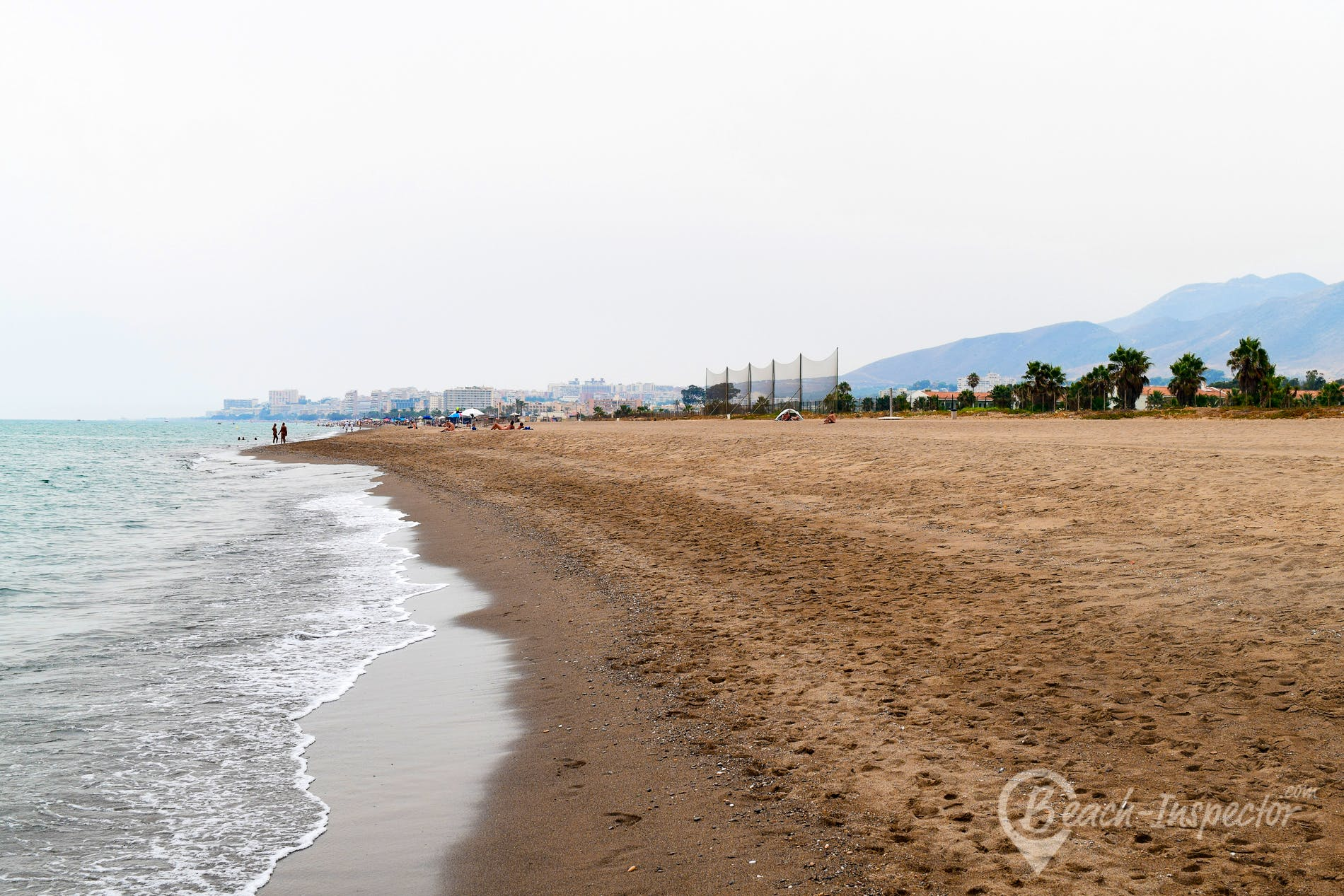 Beach Playa de Campo de Golf, Costa del Sol, Spain