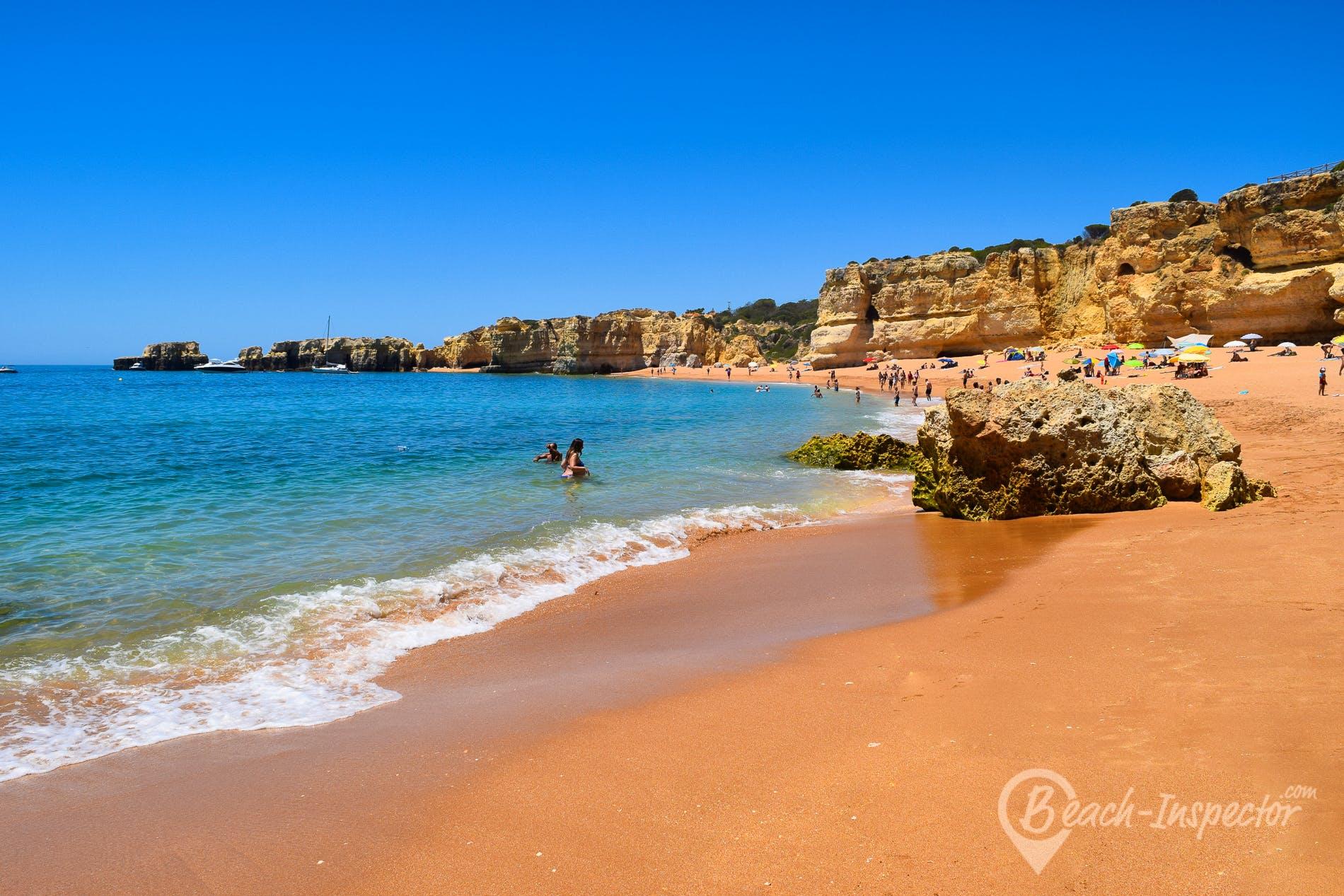 Beach Praia da Coelha, Algarve, Portugal