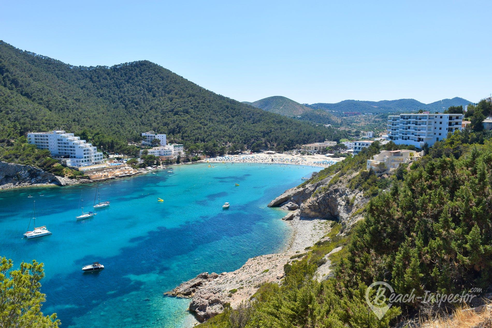 Beach Cala Llonga, Ibiza, Spain