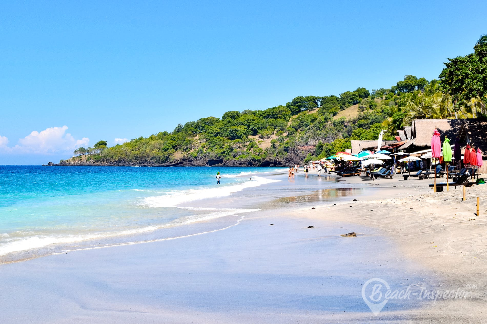 Playa Virgin Beach, Bali, Indonesia