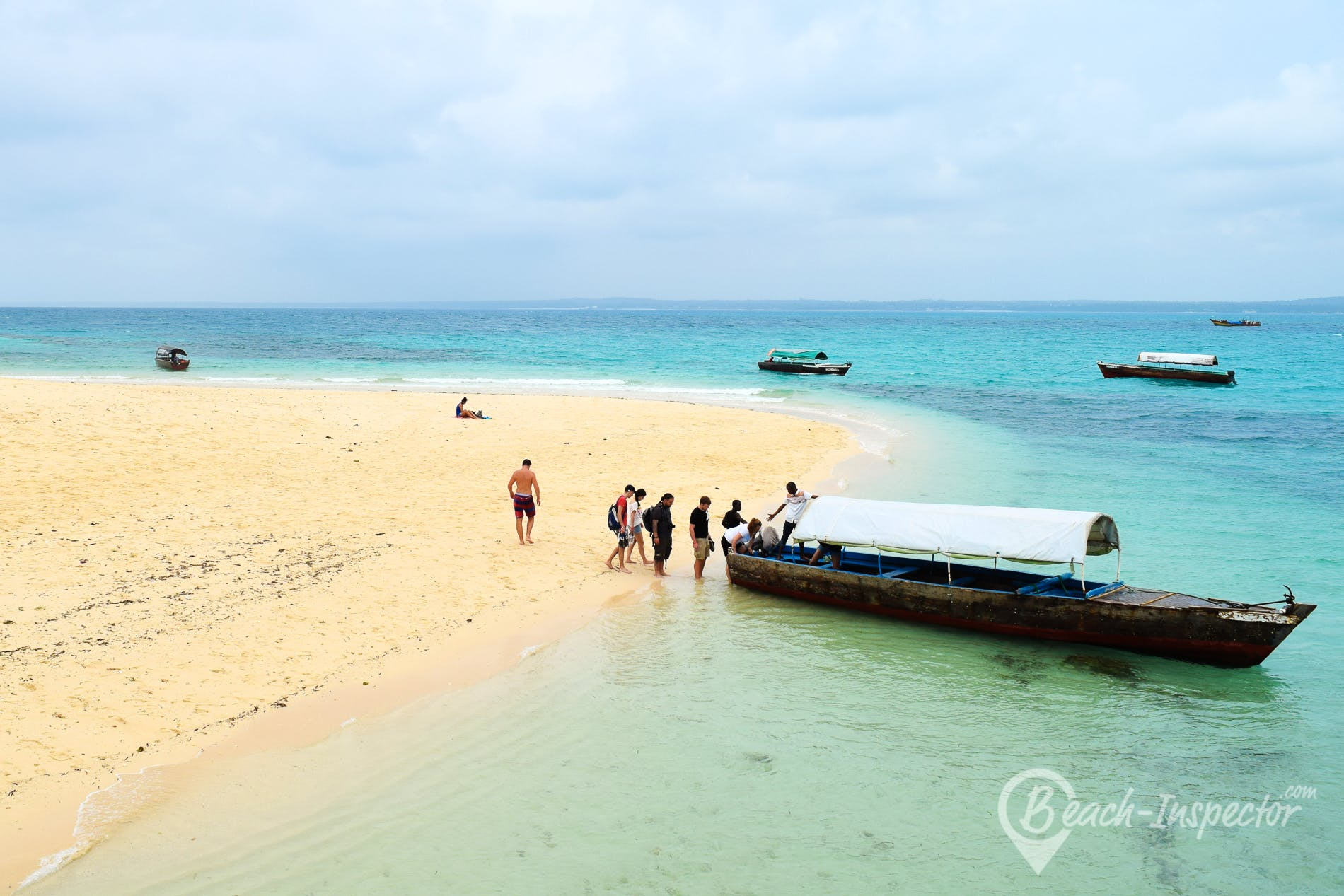 Strand Prison Island Beach, Sansibar,