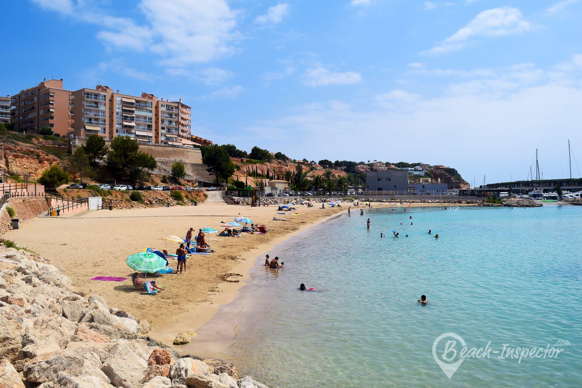 Beach El Toro, Majorca, Spain