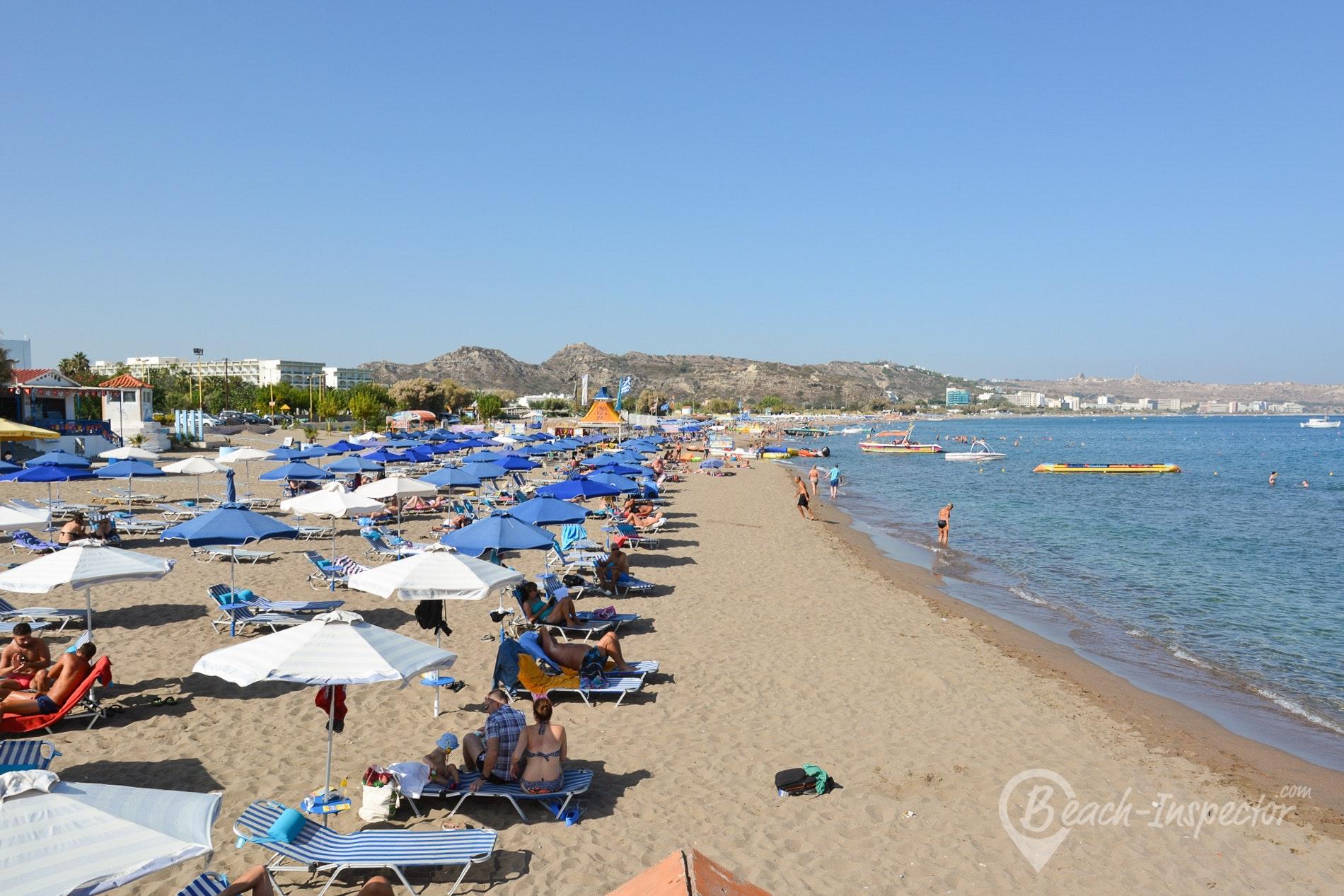 Faliraki beach pics 42