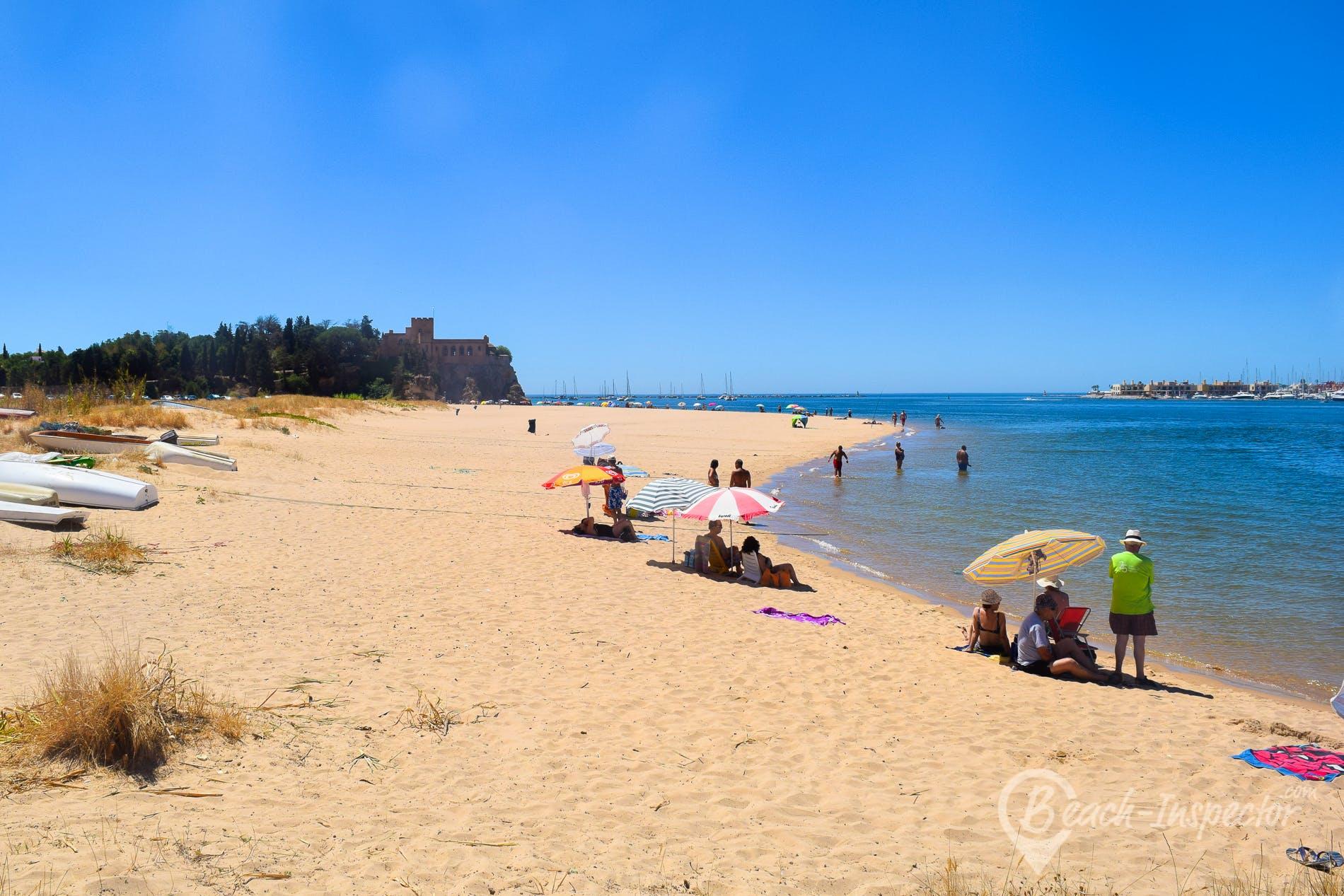 Beach Praia da Angrinha, Algarve, Portugal