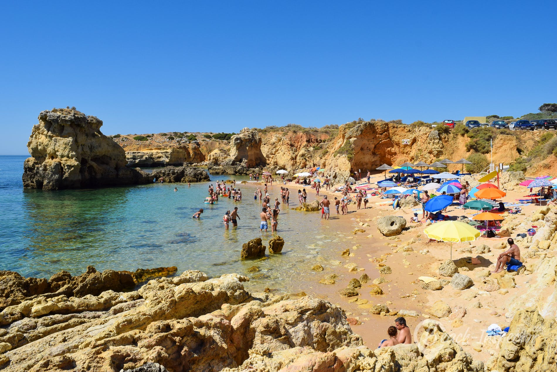 Beach Praia de Arrifes, Algarve, Portugal