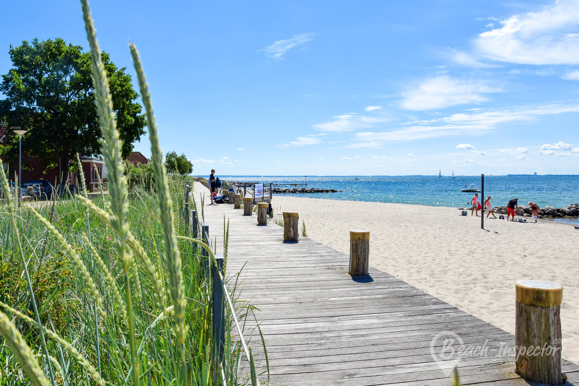 Beach Strand Neustadt, Lübecker Bucht, Germany