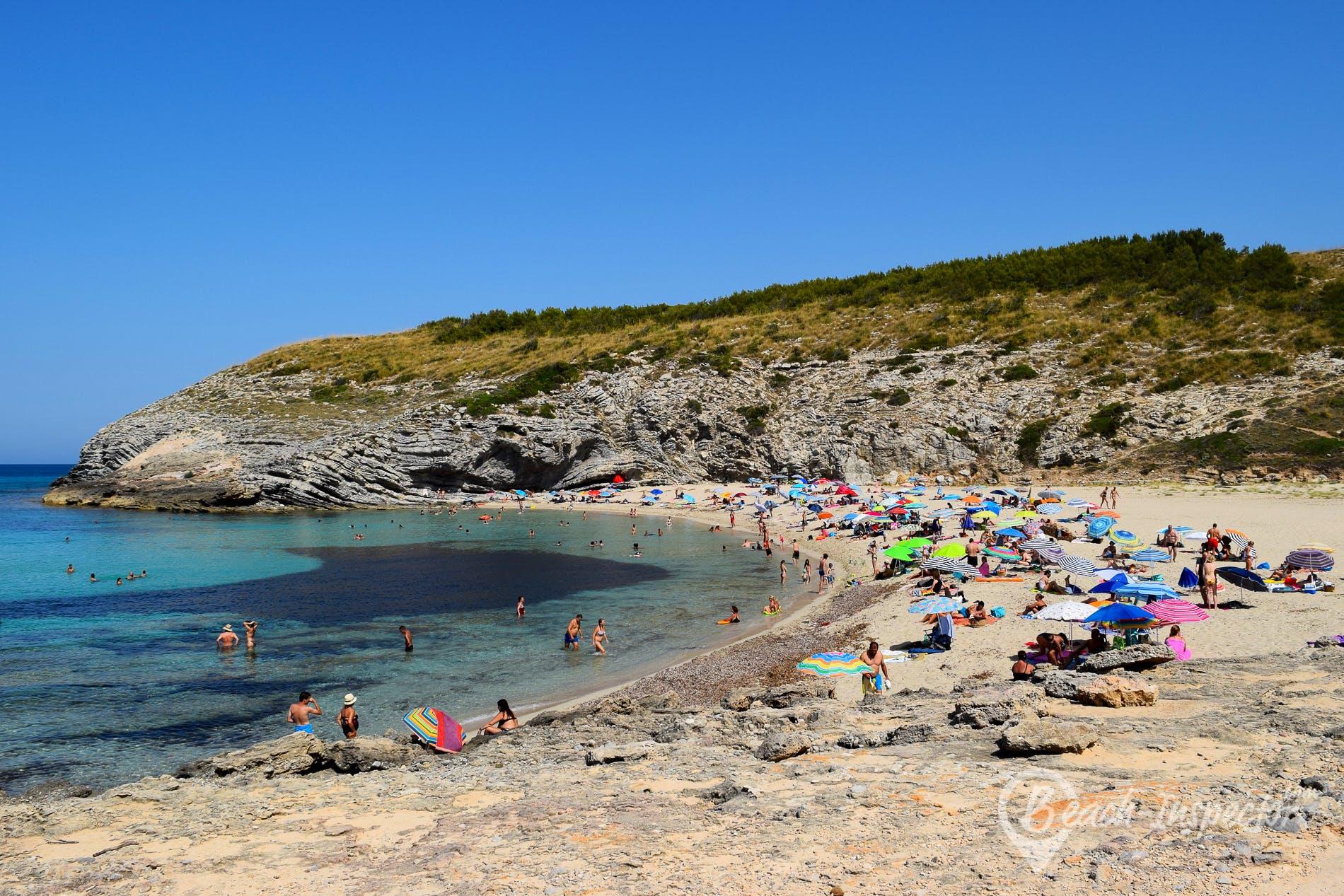 Beach Cala Torta, Majorca, Spain
