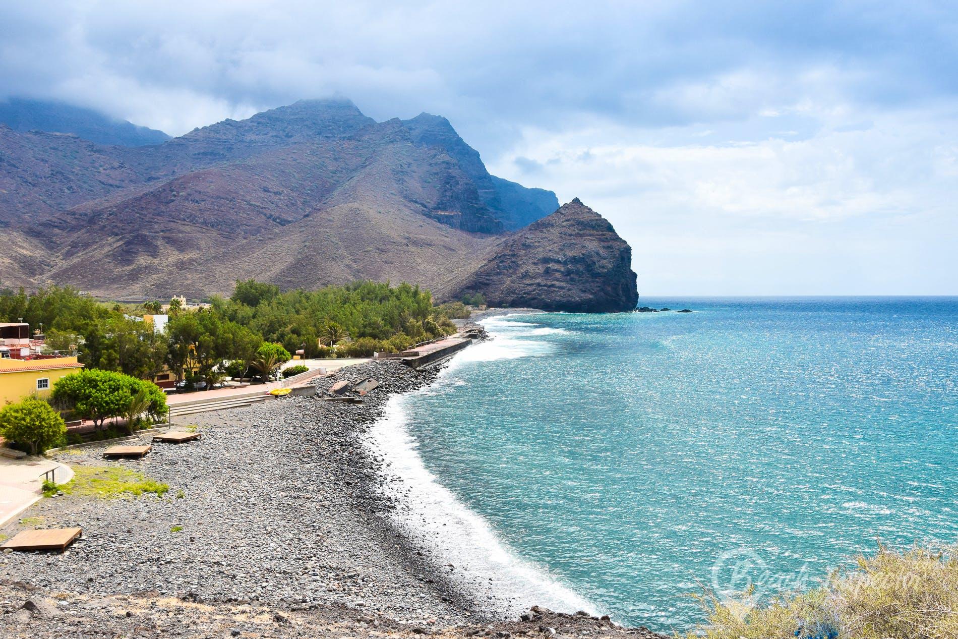 Playa Playa de la Aldea, Gran Canaria, España