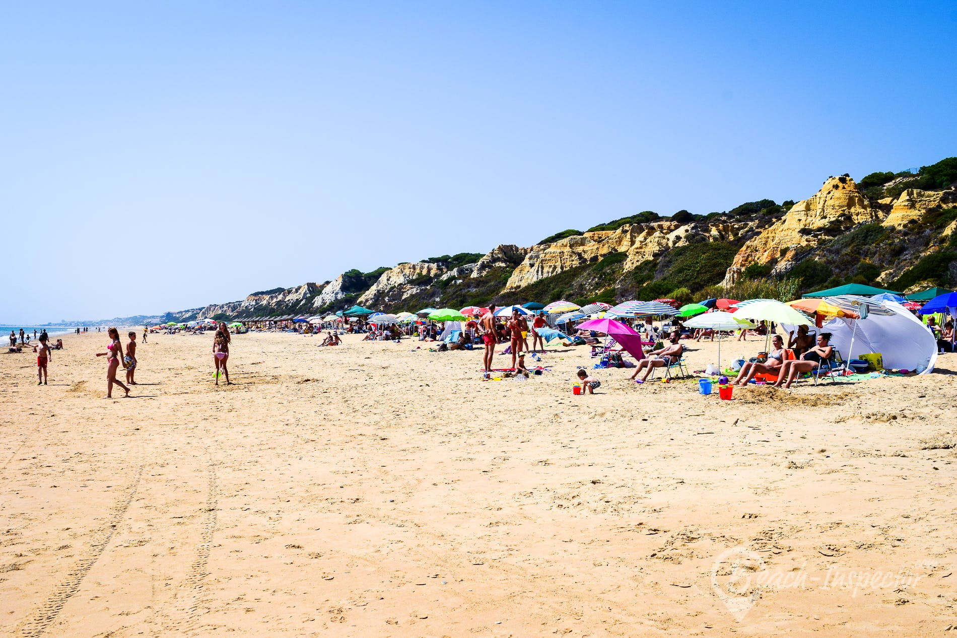 Beach Playa del Parador, Costa de la Luz, Spain