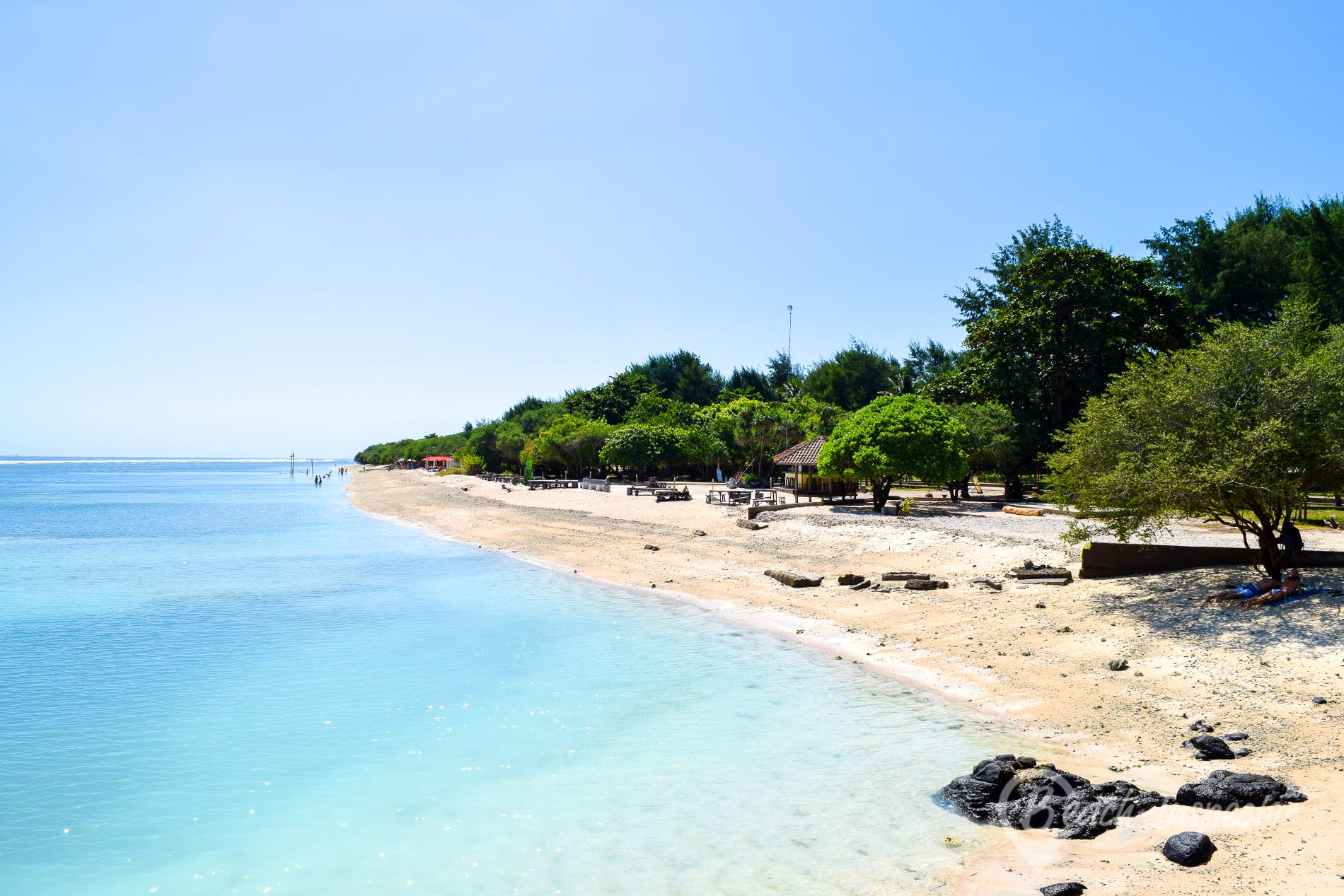 Strand Gili Trawangan, Indonesien, Indonesien