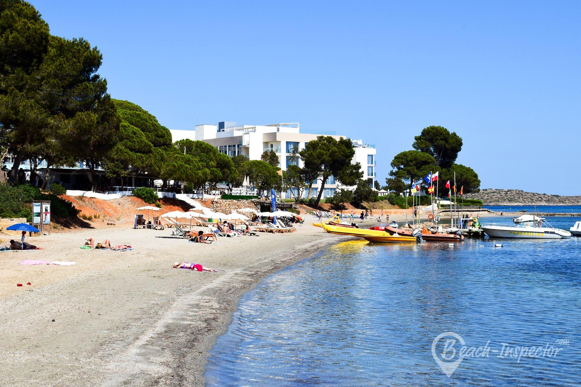 Beach Playa de S´Argamassa, Ibiza, Spain