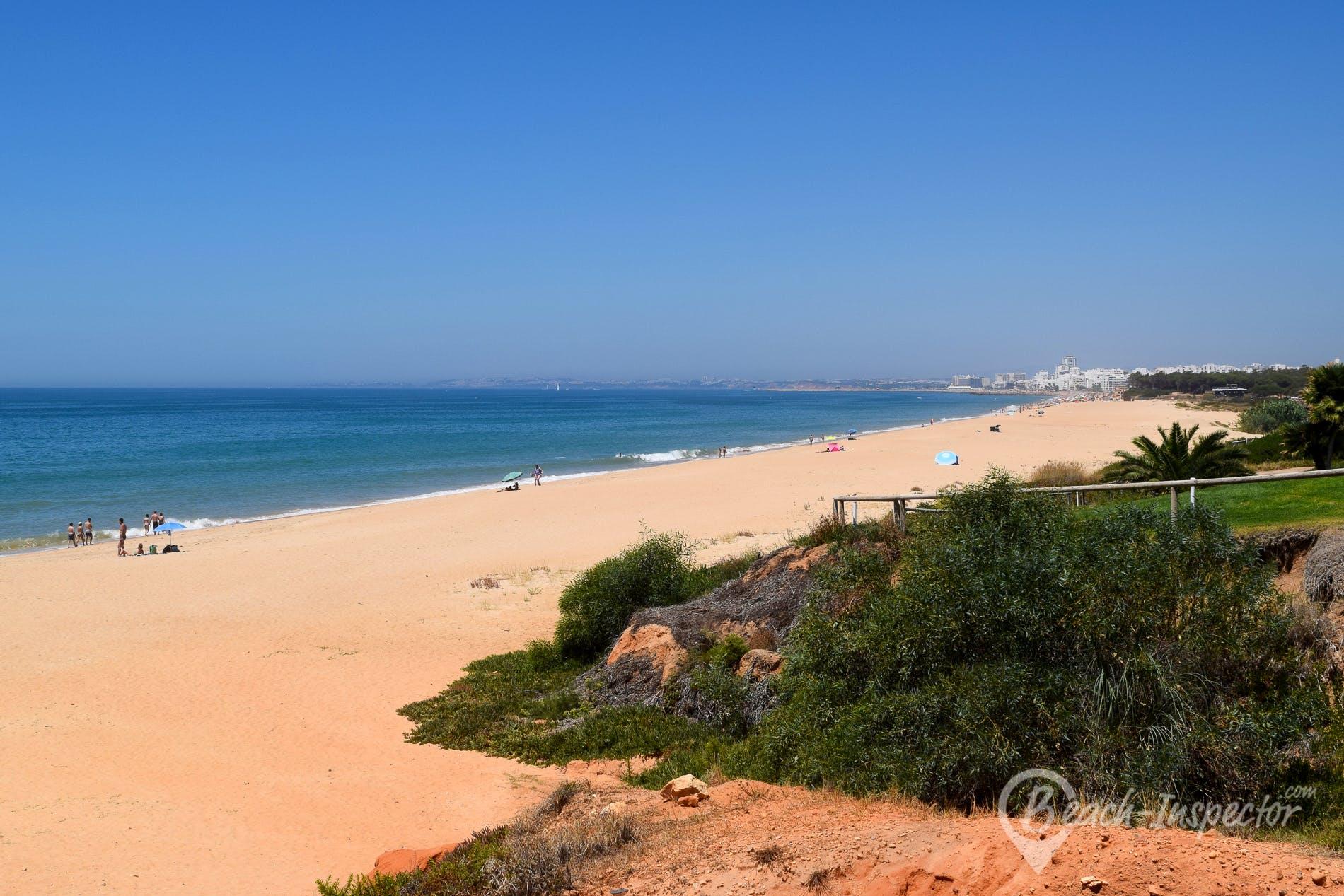 Beach Praia do Trafal, Algarve, Portugal