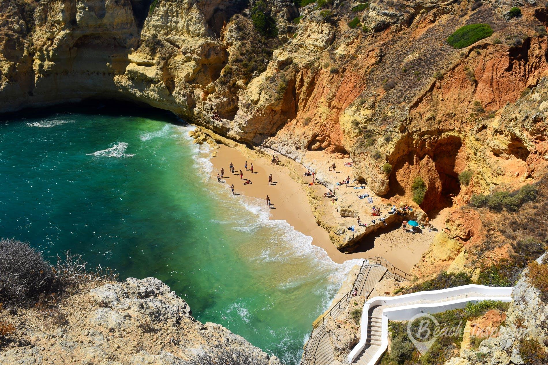 Strand Praia do Paraíso, Algarve, Portugal