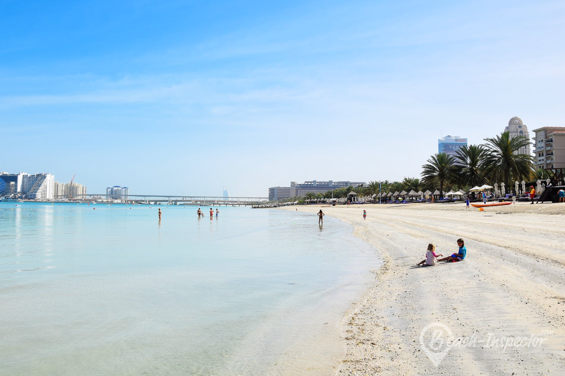 Playa Mina Seyahi, Dubái,