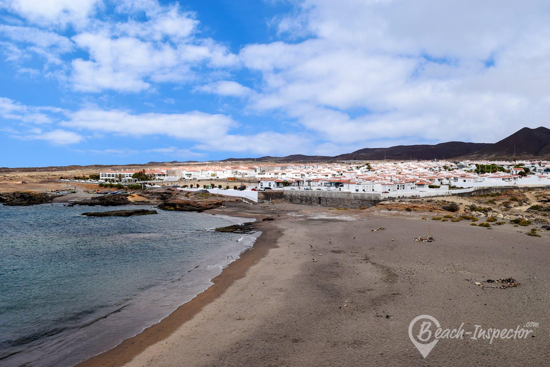 Beach Playa de Los Abrigos, Tenerife, Spain
